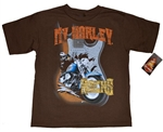 "Harley-Davidson Boys Clothing - ""My Harley Rocks"" T-Shirt"