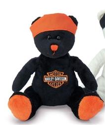 Harley Davidson Bean Bag Bear Live To Ride Leather