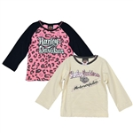 Harley-Davidson Toddler Girl T-Shirt: Gift Set