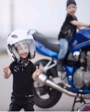 kids motorcycle jackets & vests