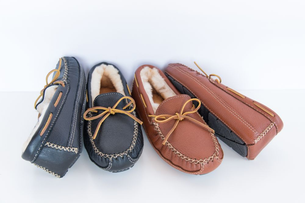 Mens Minnetonka Slippers