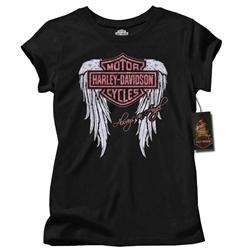 Harley Davidson Kids Clothes Girls Always An Angel T