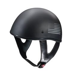 Fulmer Quot Patriotic Quot Half Motorcycle Helmet Leather Bound