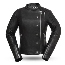 First Classics Quot Warrior Princess Quot Ladies Leather Riding Jacket