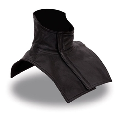 Motorcycle Leather Neck Amp Chest Warmer For Bikers