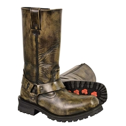 Milwaukee Leather Distressed Brown Men S Motorcycle Boots