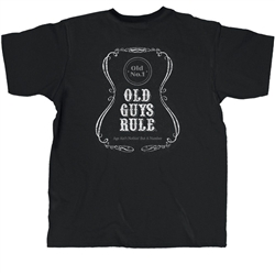 Old Guys Rule T Shirts Beer Label Design Age Aint Nothin