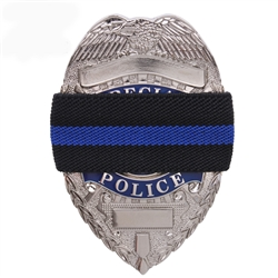 Police Thin Blue Line Mourning Band 1 99